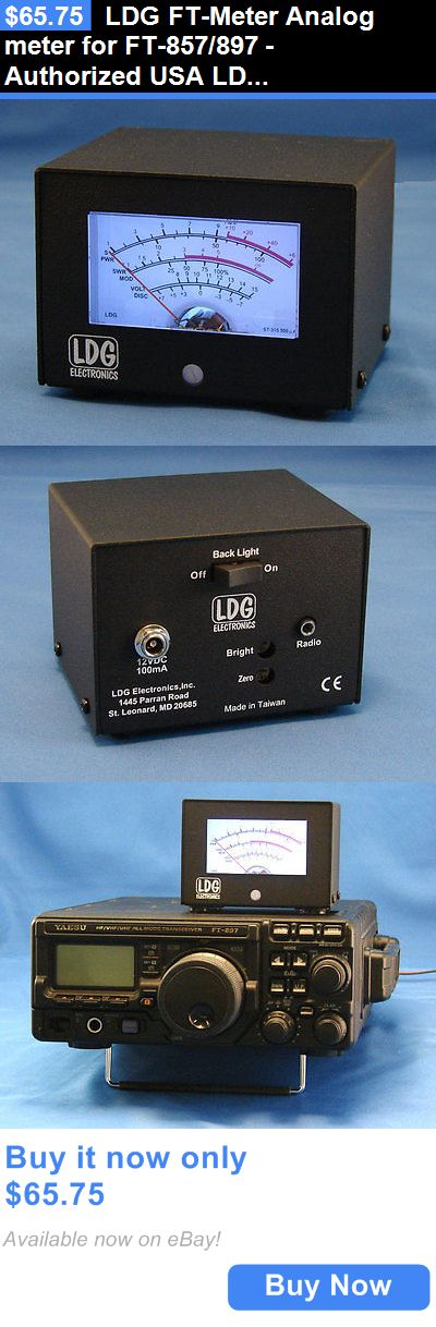 Meters: Ldg Ft-Meter Analog Meter For Ft-857/897 - Authorized Usa Ldg Dealer BUY IT NOW ONLY: $65.75