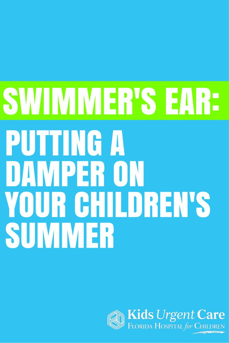Swimmer's ear can really put a damper on a vacation to the beach. #swimmer's #earache #centricare #urgentcare