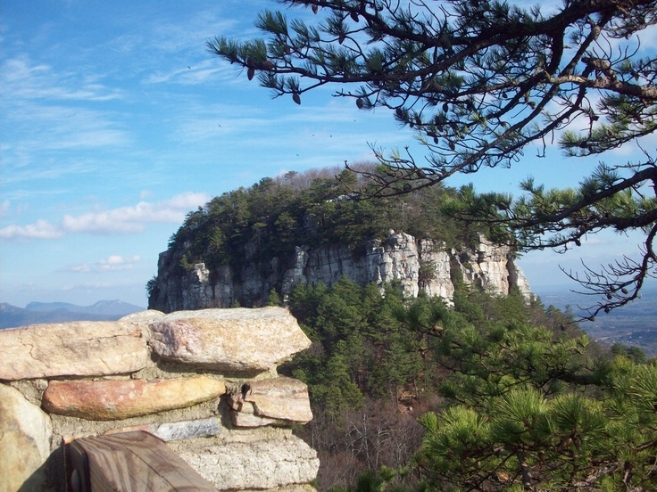 Image of Pilot Mountain in Hanging Rock State Park