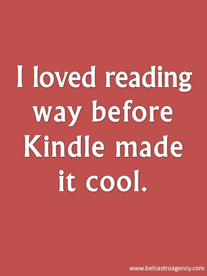 I loved reading way before ...