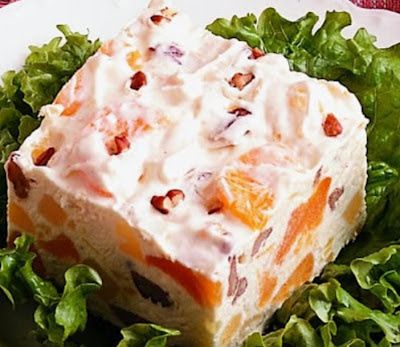 Salade de fruits congelés (Frozen Fruit Jello Salad ) _ Best Of Filipino Food Recipes