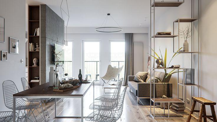 Lodz White Apartment on Behance