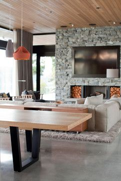 Gulf Island Holiday Home - modern - Dining Room - Vancouver - McCarthy Hinder (soon to be Marrimor)