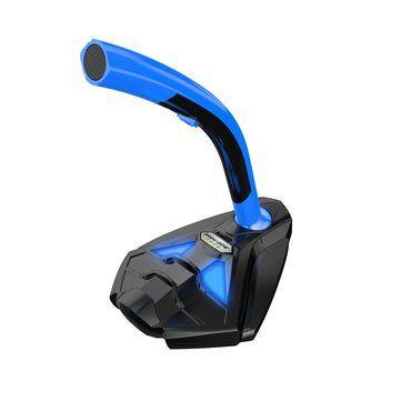 Flexible LED Light Desktop USB Microphone Recording Stand For Macbook Computer Laptop PC