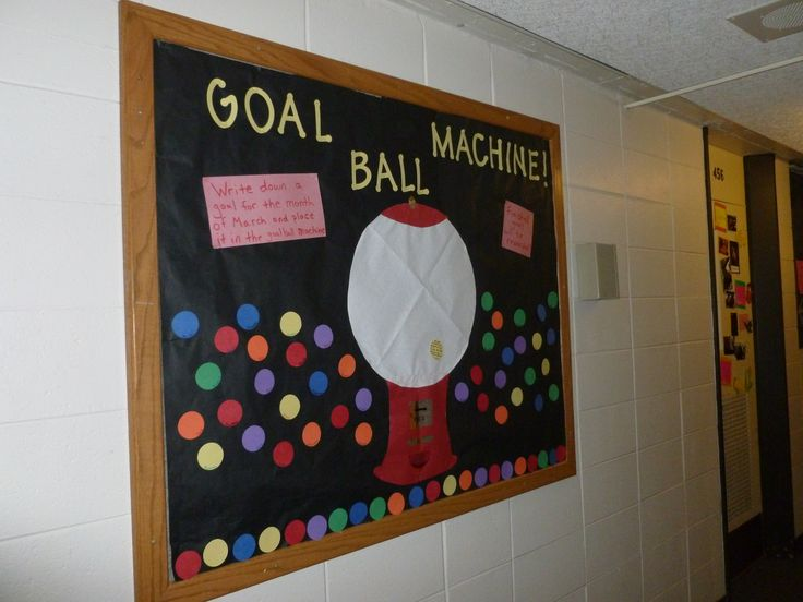 17 Best Images About Goal Tracking Bulletin Board Ideas On