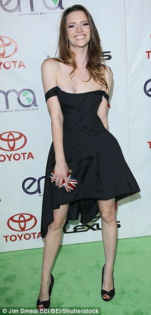 Talulah Riley, 31, pictured, shot to fame in the St Trinian's films