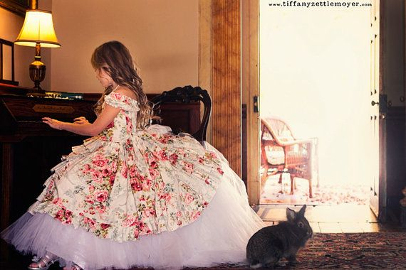 OMG! :D I want one...and yes my girls will wear stuff like this. <3 One day.... I would have killed for a dress like this as a kid.