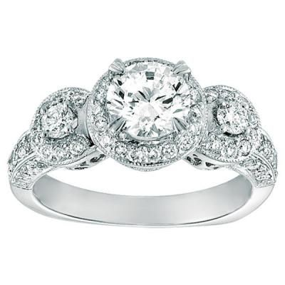 Stunning Diamond Ring by Gabriel Engagement from http reamjewelers