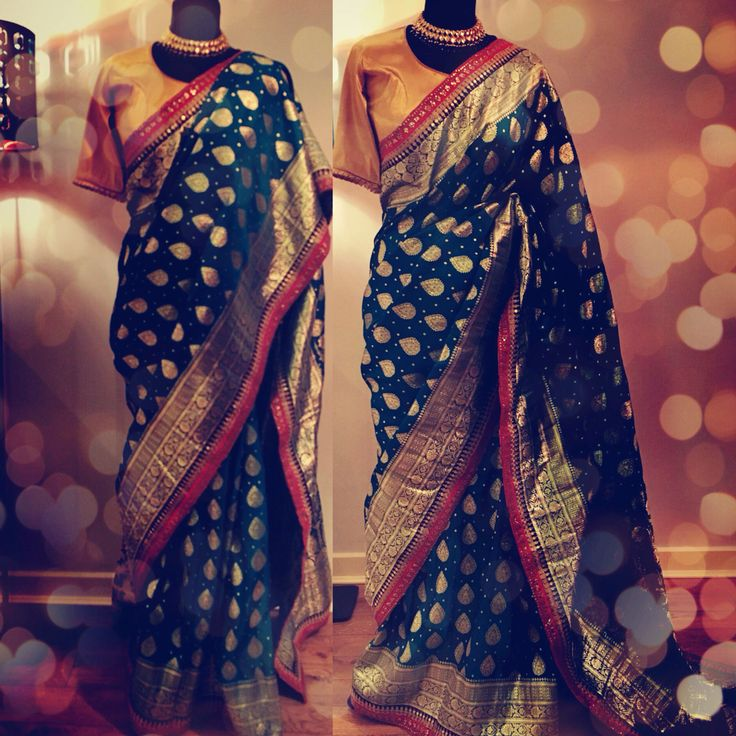 Benarsi Saree by Ayush Kejriwal For purchases email me at ayushk@hotmail.co.uk or whats app me on 00447840384707. We ship WORLDWIDE