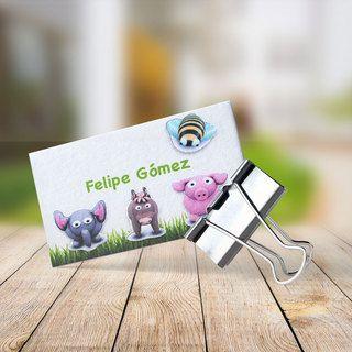 TarjeKids Animalitos de Plastilina (TK19)