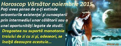 diane.ro: Horoscop Vărsător noiembrie 2015