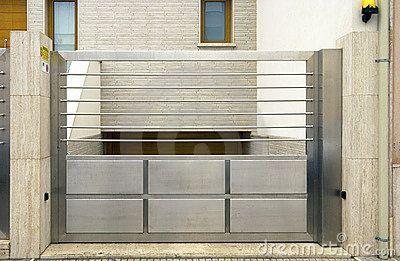 Modern gate designs steel