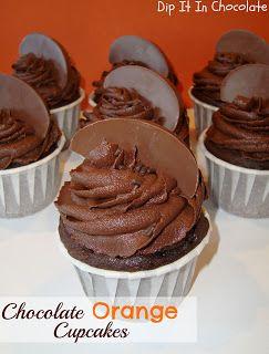 Dip it in Chocolate: Terry's Chocolate Orange Cupcakes