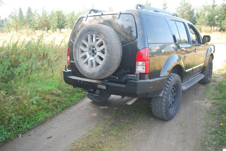Купить силовой бампер задний NISSAN Pathfinder R51