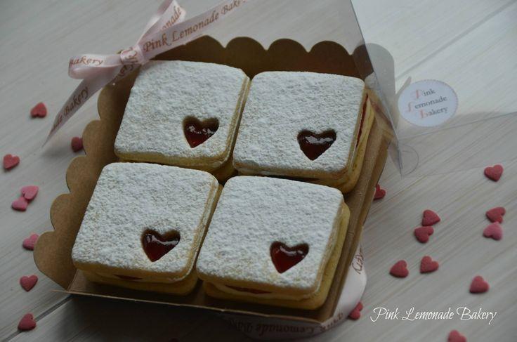 Pink Lemonade Bakery Valentine Biscuits