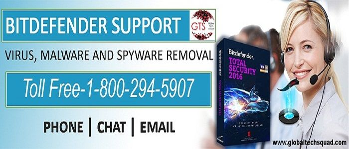 Bitdefender Antivirus Support | Toll free 1-800-294-5907 https://www.globaltechsquad.com/bitdefender-antivirus-support/