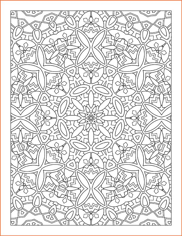every pattern coloring pages - photo#2