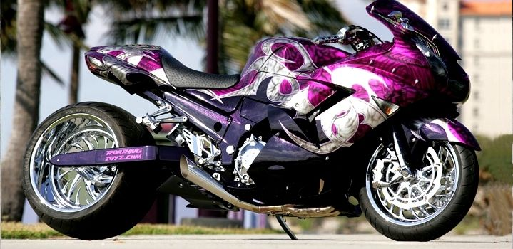 Purple Kawasaki ZX-14R..... Umm can I have please?  But obviously in like a ninja 250.