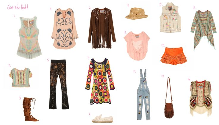 COACHELLA!! - GET THE lOOK - Highly Preppy