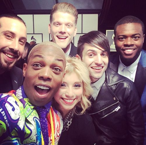 Hanging on the red carpet with their friend Todrick Hall!