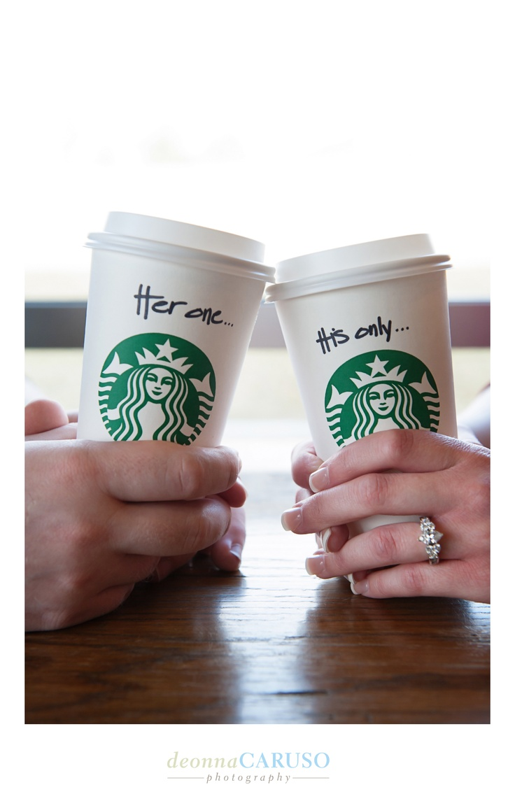 """Engagement"" - Deonna Caruso Photography - Starbucks"