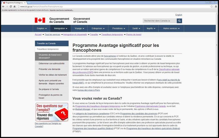 http://www.cic.gc.ca/francais/travailler/francophone.asp
