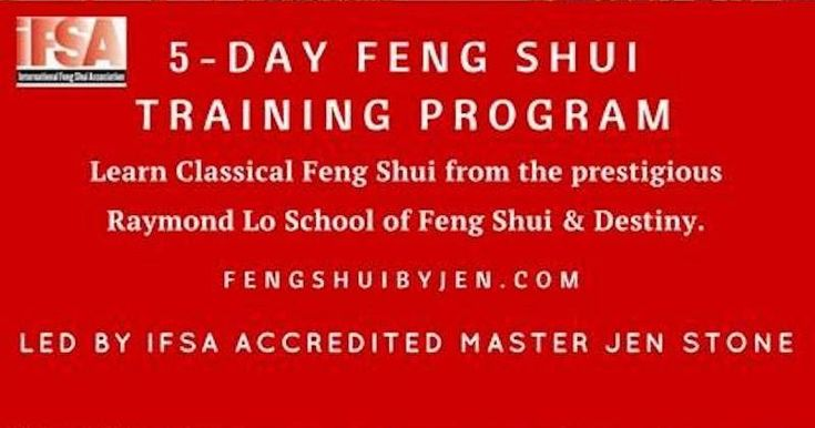 Learn Feng Shui with one of the top names in the industry - and save with the Early Bird Special before January 31st!