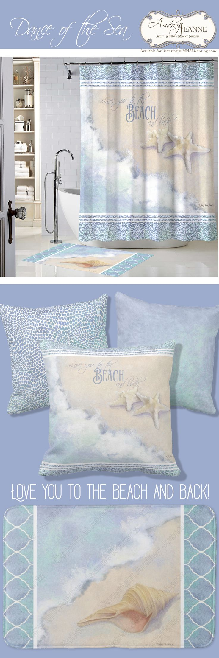 """Dance of the Sea"" artwork collection by Audrey Jeanne Roberts 
