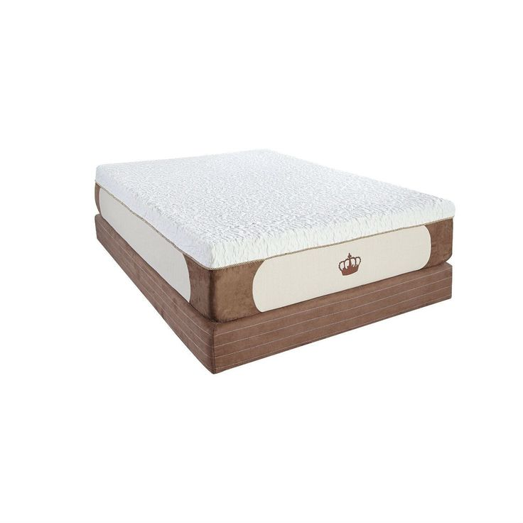 CAL King size 13-inch Thick 5lb High Density Memory Foam Mattress