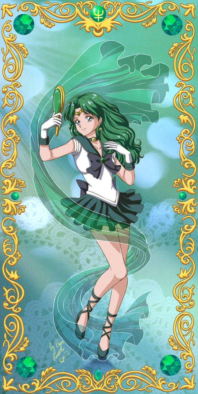 Sailor Neptune Crystal by ElynGontier.deviantart.com on @DeviantArt