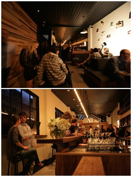 Mr Wilkinson bar in Brunswick, Vic, Aus. Lovin the design and esp the timber feature wall. Great place to be for a great night out