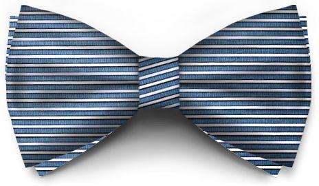 Albastru Cu Dungi Albe