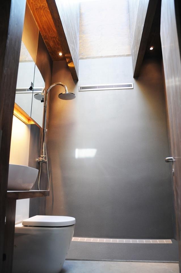 Pareti del bagno   realizzabili anche  con le  resine Make ... www.make-design.it/