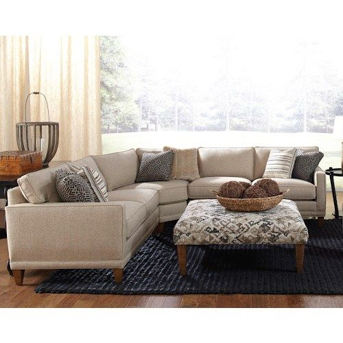 Rowe Townsend Contemporary 3 Piece Sectional Sofa - each side is 84 inches! | Furniture/House | Pinterest | Sectional sofa  sc 1 st  Pinterest : three piece sectional couch - Sectionals, Sofas & Couches