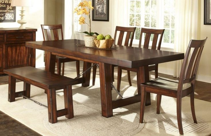Dining Room Sets With Bench