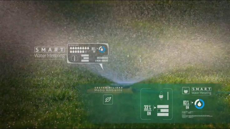 Regador de agua inteligente  Smart Cities  Ciudades inteligentes