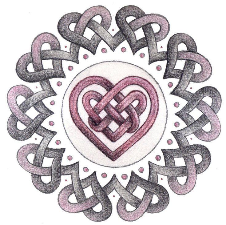 Eternal Heart Knotwork by Spiralpathdesigns on DeviantArt