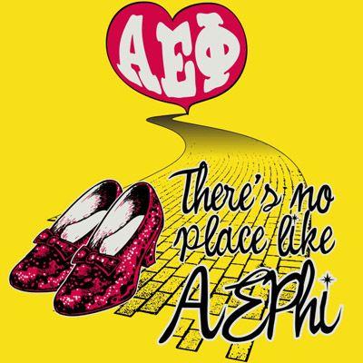 Alpha Epsilon Phi Screen Printed Sorority Rush Shirt Idea  $10.90 each, 24 piece minimum