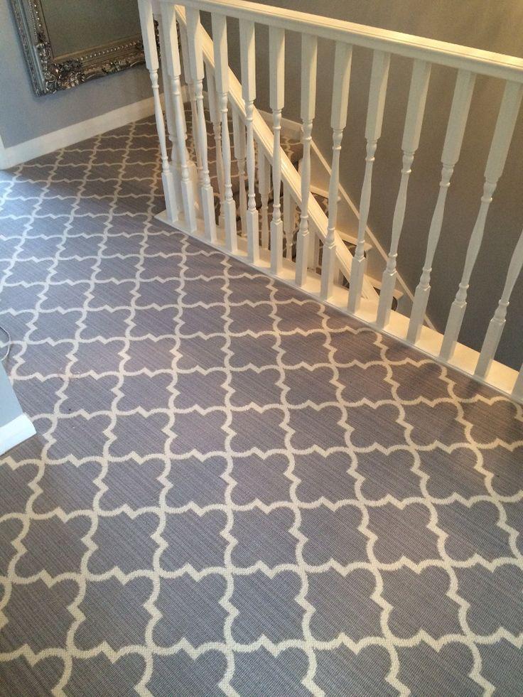 Axminster Carpets Royal Borough Collection Trellis Windsor Mid Steel Grey Hall…