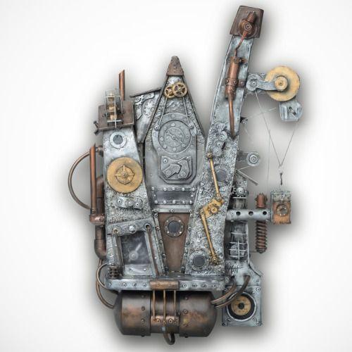 Steampunk Wall Art - talentneeds.com