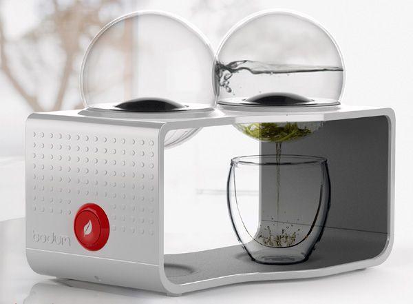 it's a tea maker!
