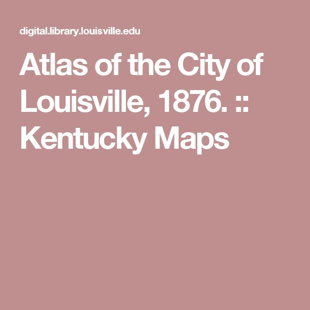 Louisville Atlas