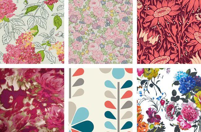 Floral prints - big, small, retro, contemporary - love 'em! Coletterie