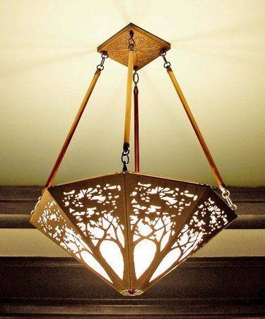 Chandelier Tree Design James Mattson Lighting Mission
