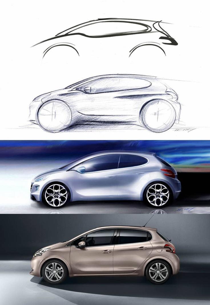 mais plus prochainement : Peugeot 208