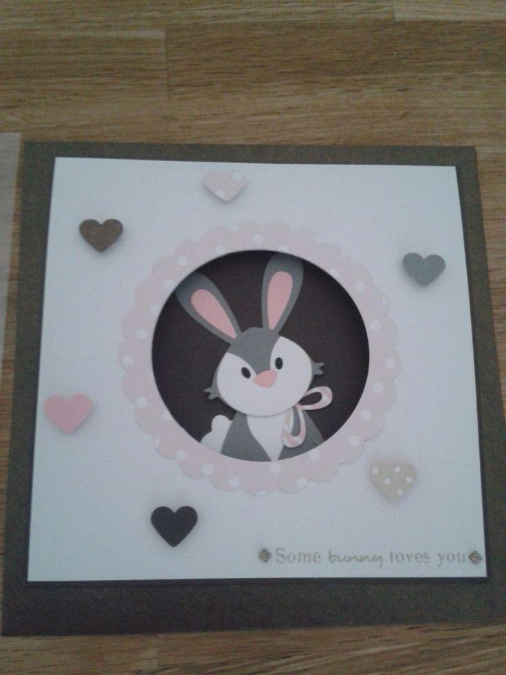 Geburtstagskarte, Marianne Design, Bunny