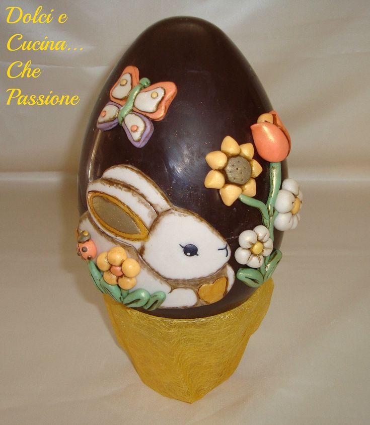 Uova di Pasqua Decorate , Stile THUN