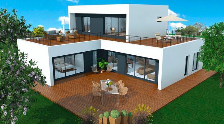 booa maison crepi roof6 fertighaus. Black Bedroom Furniture Sets. Home Design Ideas