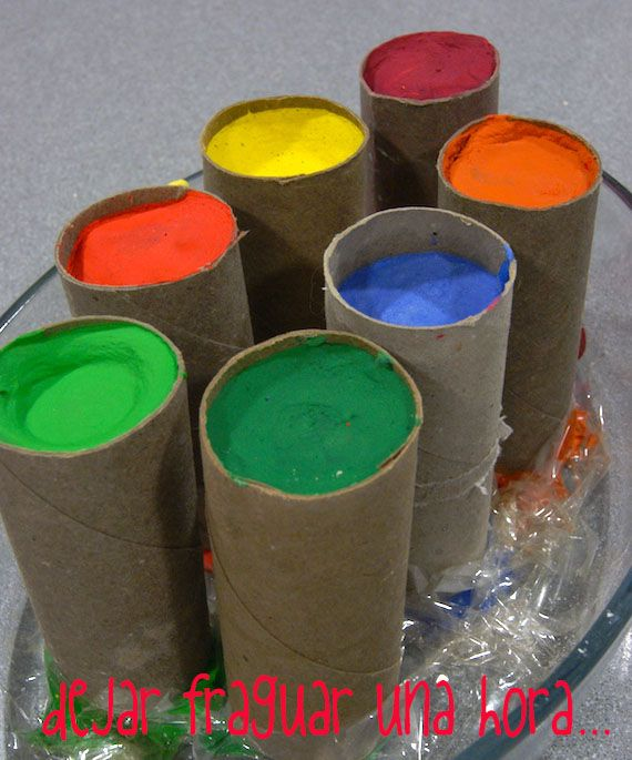 Tizas caseras / Homemade chalks