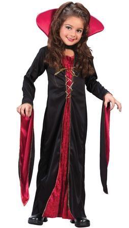 victorian vampiress girl 39 s costume victorian vampire. Black Bedroom Furniture Sets. Home Design Ideas